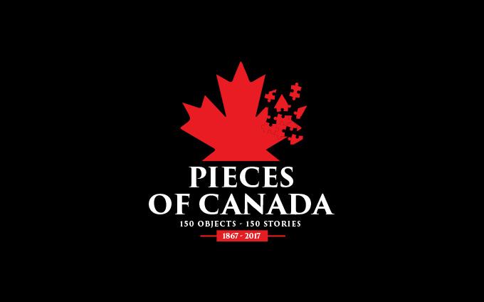Pieces of Canada exhibition logo
