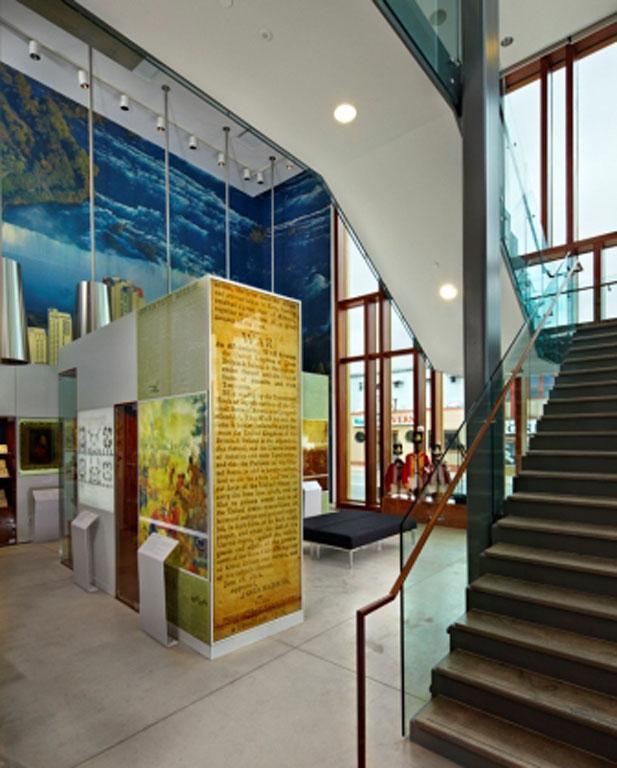Niagara Falls Museum stair way
