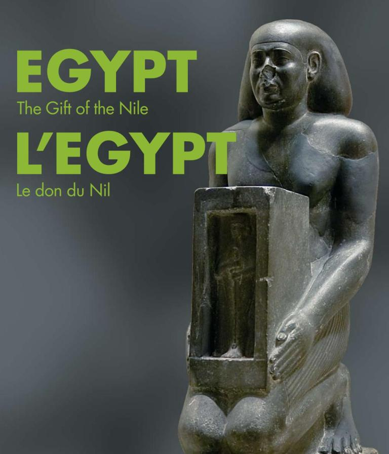 Egypt Gift of the Nile statue