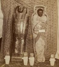 Picture of an Egyptian mummy