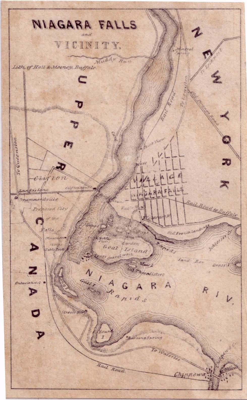 Evolution Of The City Of Niagara Falls