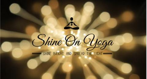 Shine on yoga logo