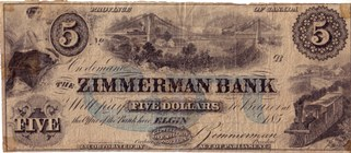 Zimmerman Bank Note